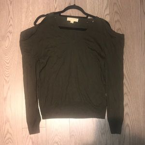 Michael Kors Forest Green Sweater